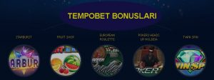 tempobet bonus